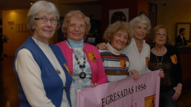 Egresaron del Secundario en 1956 y lo festejaron en Bariloche invitad